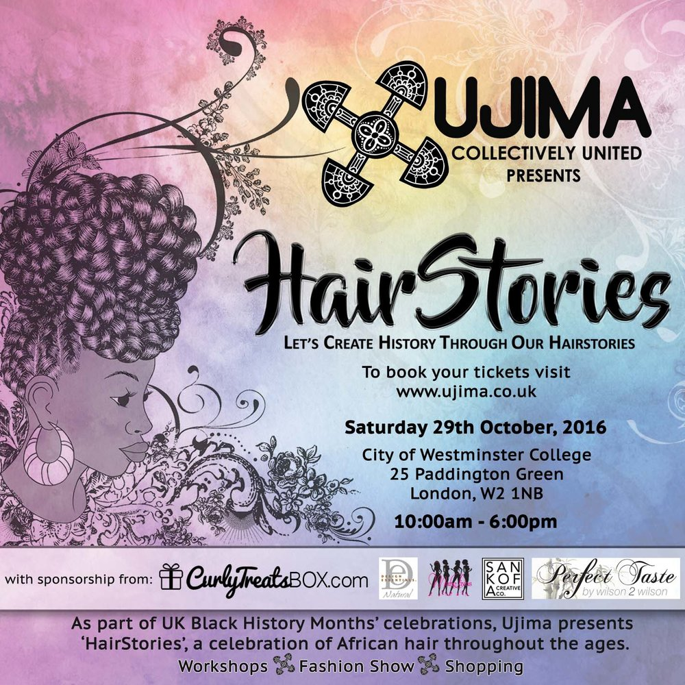Three Women Entrepreneurs Unite To Celebrate The History of African Hair at HairStories During Black History Month in London