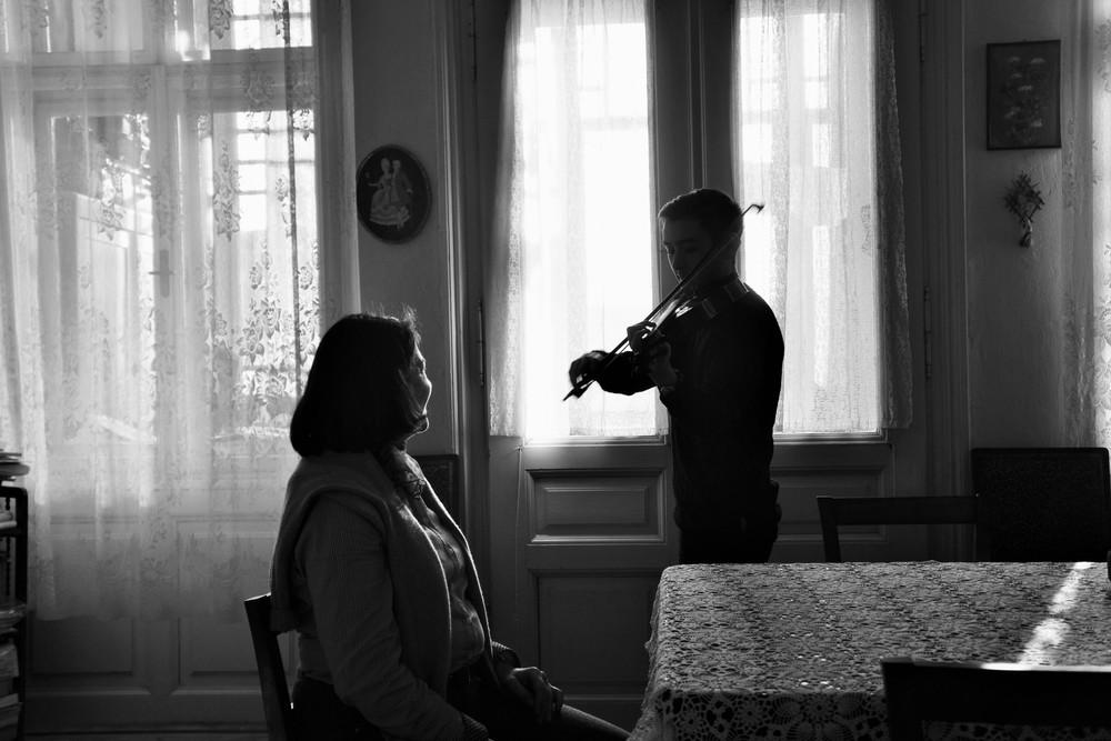 Adelina Oprean und Mathias Inoue in Sibiu, fotografiert von Olivier Mueller