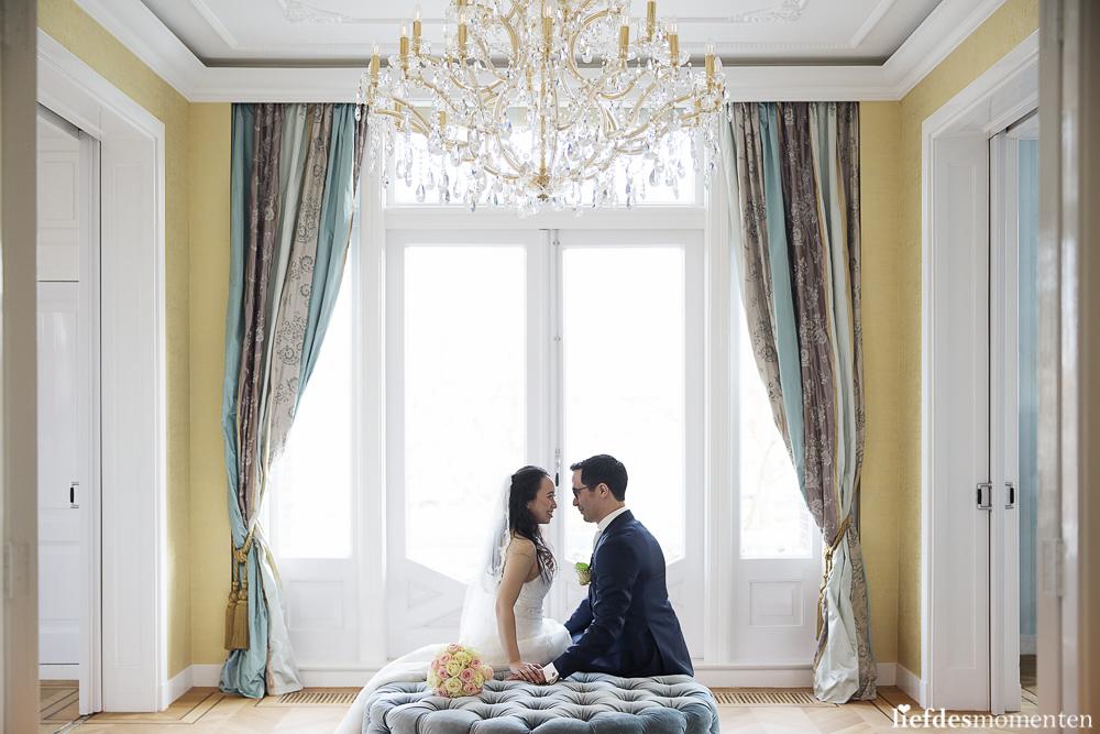trouwreportage villa clementine