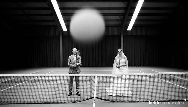 Let love flourish at the tennis court. #whynot #goodidea . #liefdesmomenten #weddingphotography #weddingphotographer #photo #weddingfilm #wedding #yesido #theperfectwedding #prewedding #trouwen #bruidsfotograaf #trouwfotograaf #bruidsfotografie #destinationwedding #bride #groom #weddingdress #love #trouwenin2018 #trouwenin2019 #tennis
