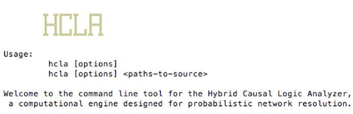 HCLA command-line tool