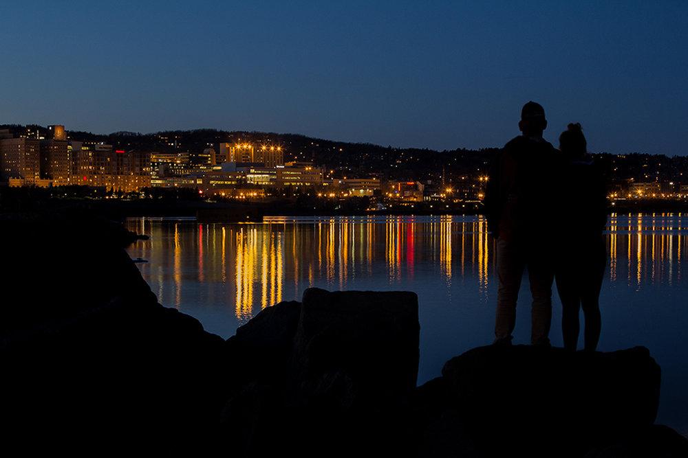 City Lights Couple