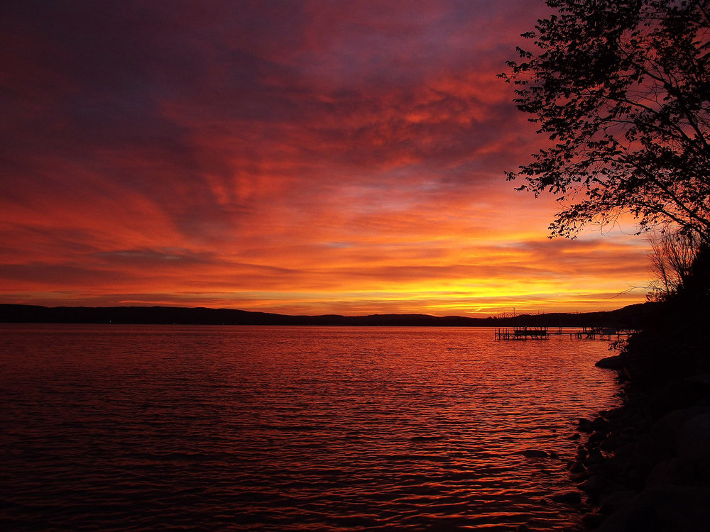 Lake Charlevoix Sunrise - Laura Copeland