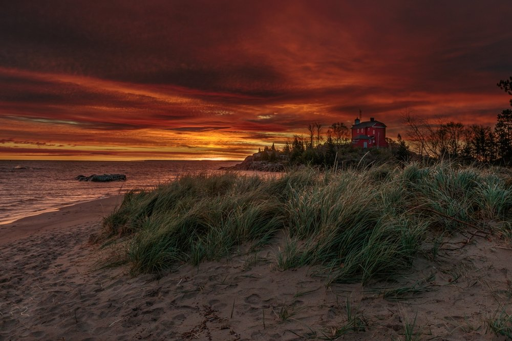 Lighthouse Sunrise - Ray Wery