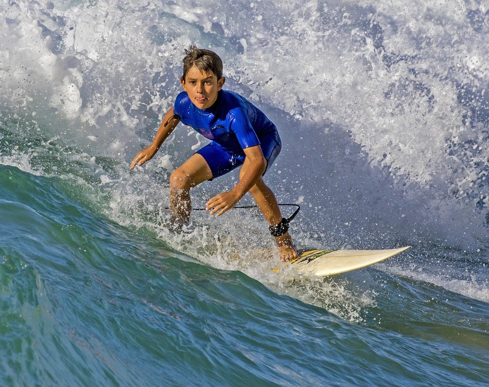 2nd Place~Surfer in Blue Suit~Gerald Emmerich, Jr., HonPSA, GMPSA~Image Makers
