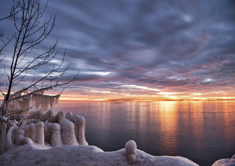 3rd Place~Lakefront Sunrise~Elizabeth Whitcomb~Wehr Nature Center