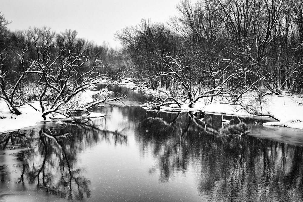 Rivers and Ponds in Winter - Chris Voss