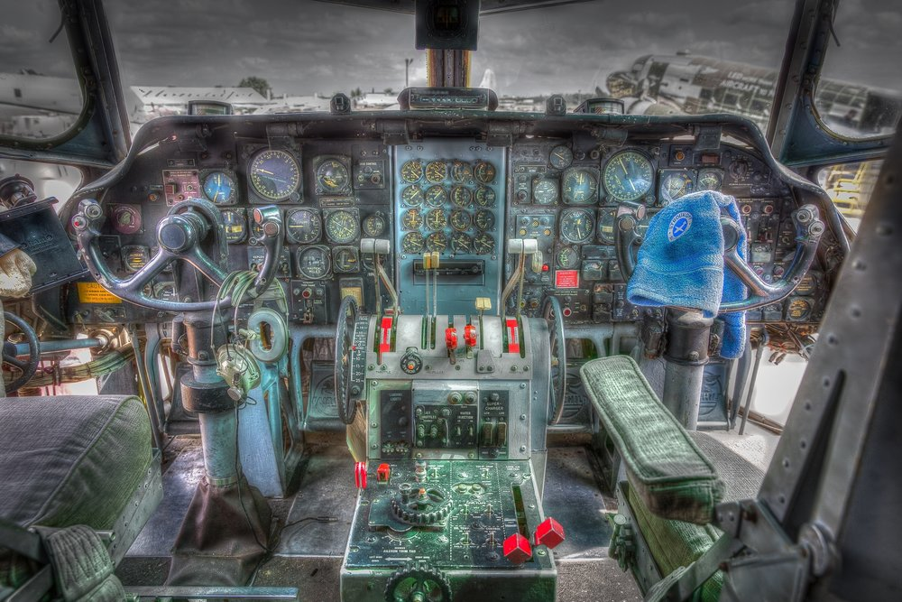 3rd place - Cockpit (9216448)~Patrick Lynch - Menomonee Falls