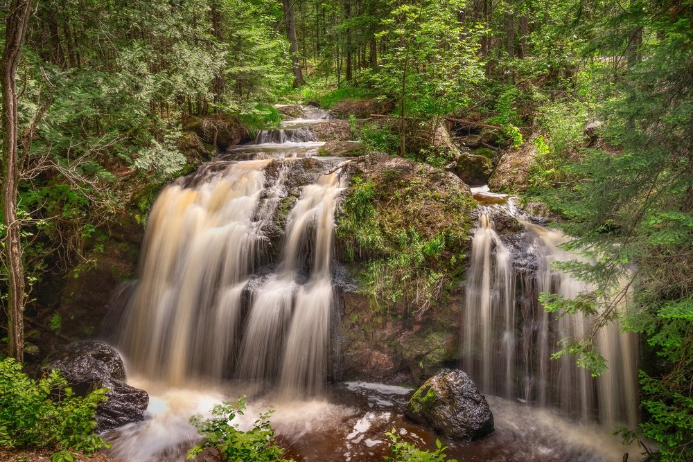 3rd place - Gentle Falls~Jim Kurovsky - Retzer Nature Center