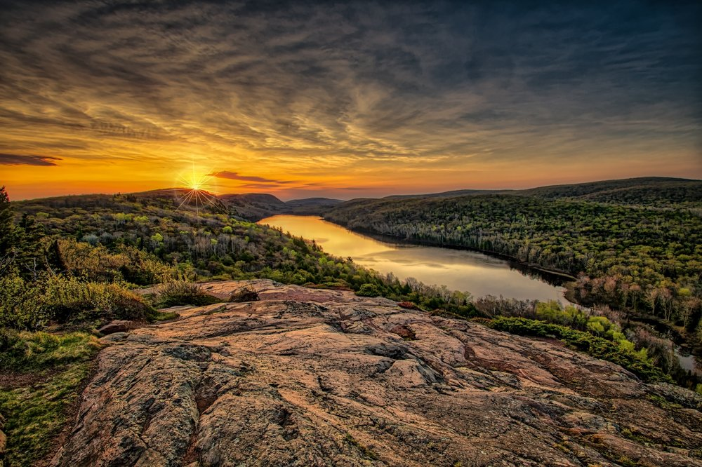 2nd place - Sunrise Lake of The Clouds~Jeffrey Klug - Menomonee Falls