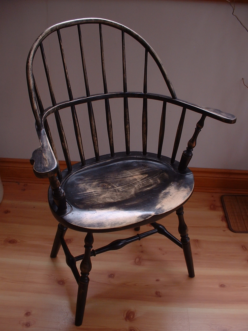Sack Back Arm Chair