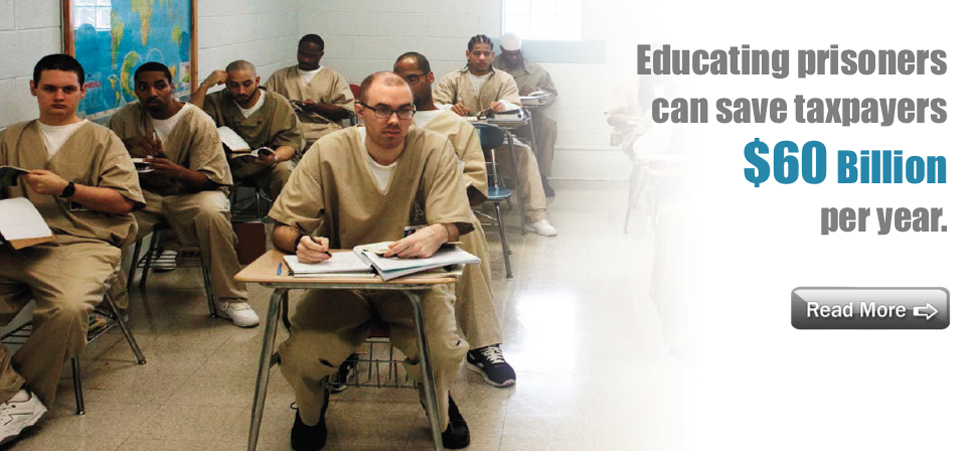educating prisoners an unnecessary effort