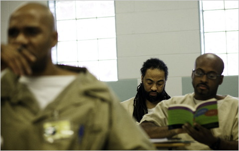 Most American Prisoners are routed into ged programs, which are more focused on reading comprehension than actual high school courses.