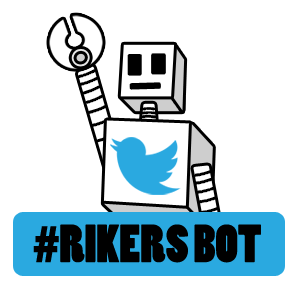@rikersbot tweets out a new message every day.
