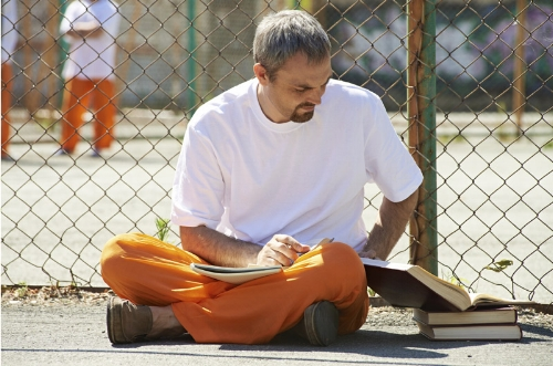 Prisoners who participate in educational programs have 43 percent lower odds of returning to prison compared to those who don't.