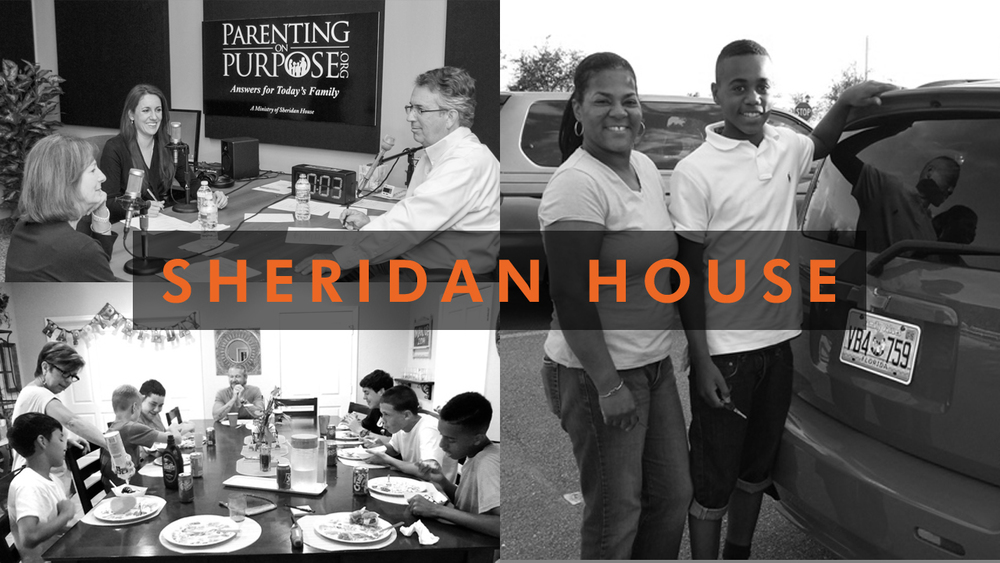 Sheridan House works to stabilize and strengthen families through residential care for middle-school aged children, family counseling, support for single parents, and other Christ-centered programs.