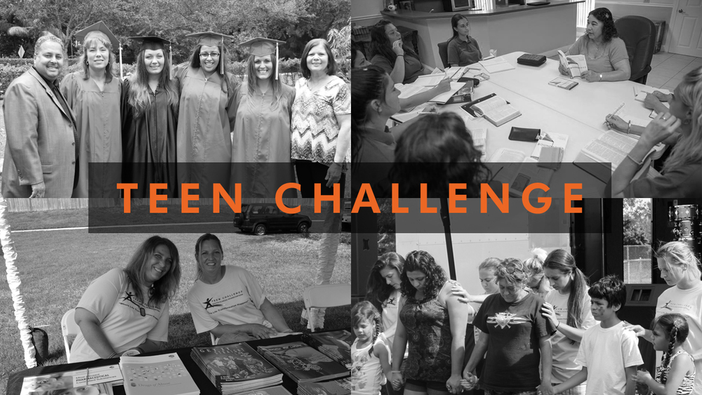 Victory supports the South Florida Women's Home of Teen Challenge, which works to help women break the cycles of addiction and life-controlling problems and provide life transformation through Christ-centered programs.