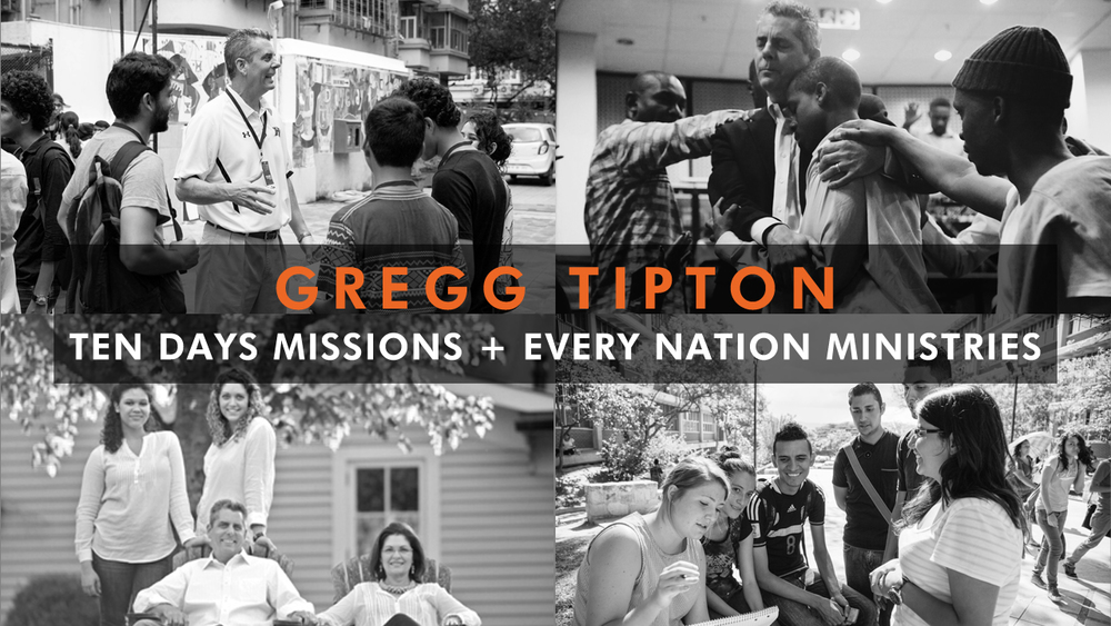 Gregg works to reach college campuses with the Gospel and mobilize believers to advance the Kingdom through short-term mission trips.