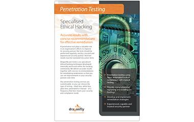 Penetration Testing Specialised Ethical Hacking