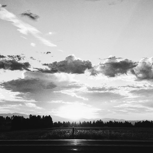 The skies of Washington from earlier this month.  #iphone #cloudsaregreat