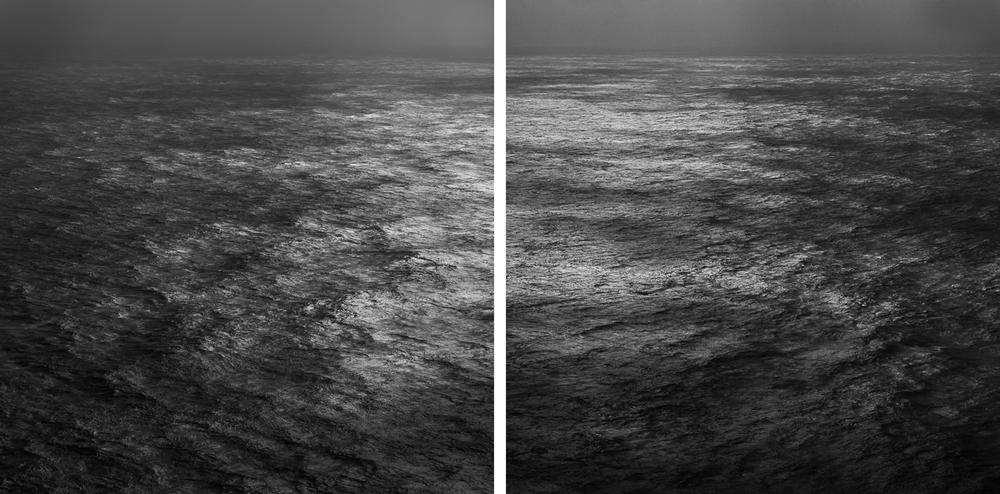 Diptych, Pacific Ocean (B2195)