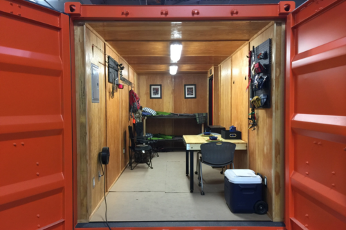 Rugged Cabin Shipping Container Cabin