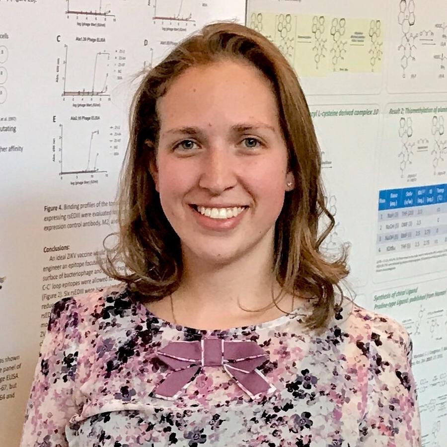 Ariel Wirchnianski<br><i>PhD Student</i><br>B.S. in Biology, Mount Saint Mary's University, Emmitsburg, MD