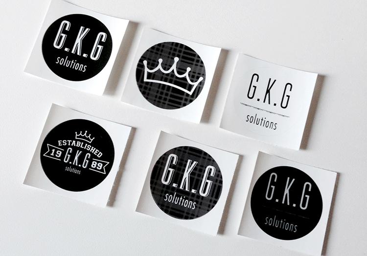 G.K.G Solutions Sticker pack