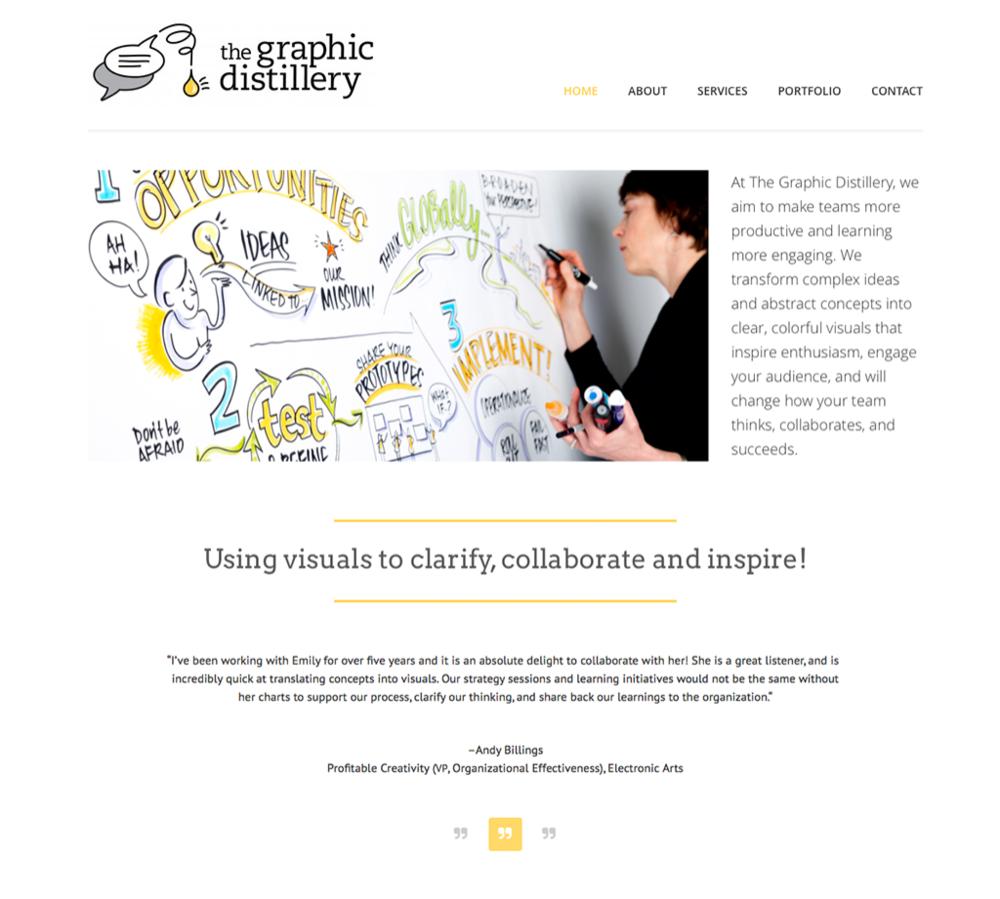 The Graphic Distillery Website