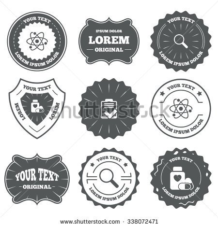 style-stock-photo-vintage-emblems-labels-medical-icons-atom-magnifier-glass-checklist-signs-medical-heart-pills-338072471.jpg