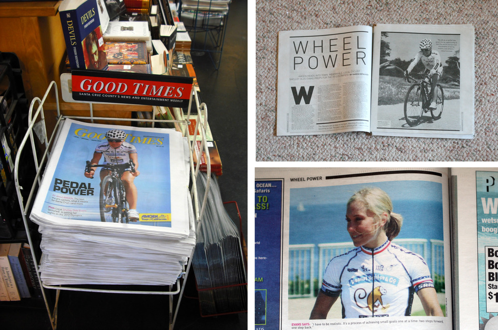 Cover and feature photography for the Good Times newspaper in Santa Cruz, CA.