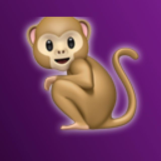 How's your Sunday been, friends and followers? I've just been monkeying about. But I've been thinking of you.. 😎😇😈🌟💛💗💓💞 Also—anyone know who to credit for creating this and other fabulous iPhone emojis? I mean. Seriously. This is art. I may not know who you are, but I see you. #petportraitartist