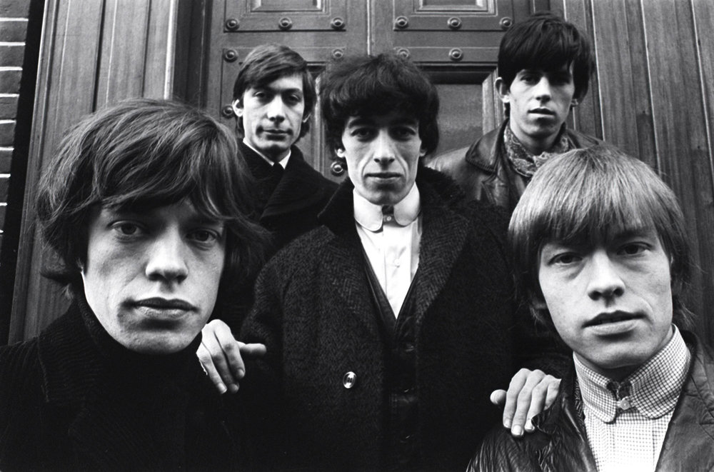 The Rolling Stones; 1964 photo: Terry O'Neill
