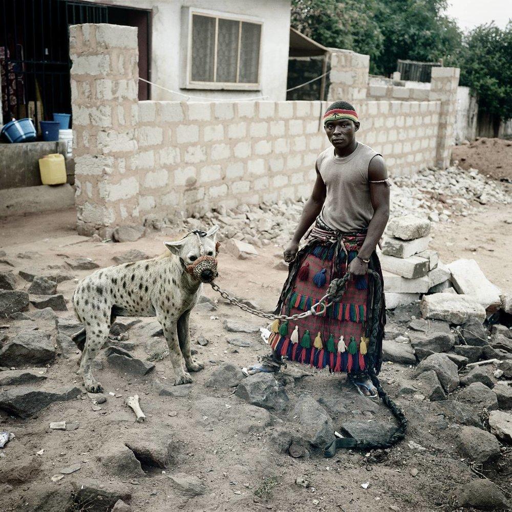 hyena boy WITH OLOGBO