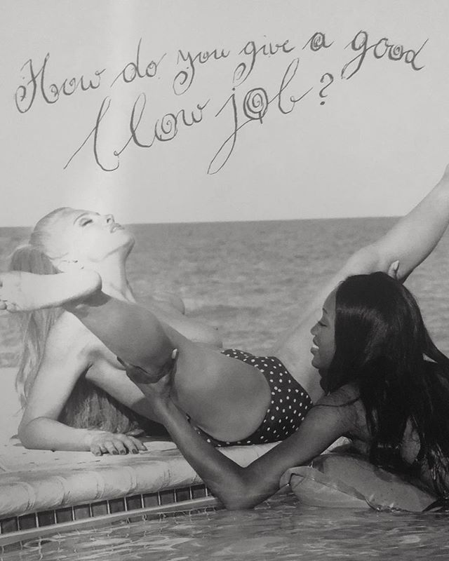 Naomi and Madonna by Steven Meisel