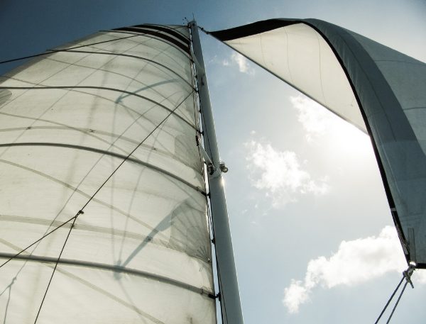 Strategic digital marketing explained with wind in sails image