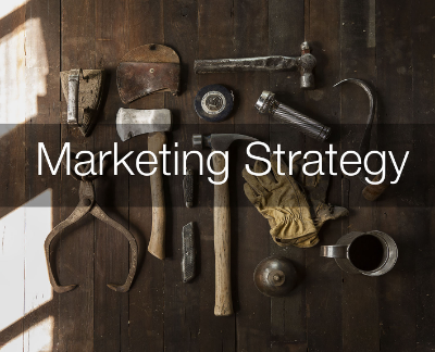 tools on a work bench for digital marketing tools