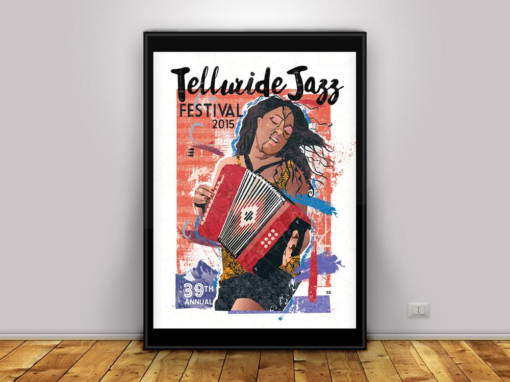 Telluride Jazz Fest Poster