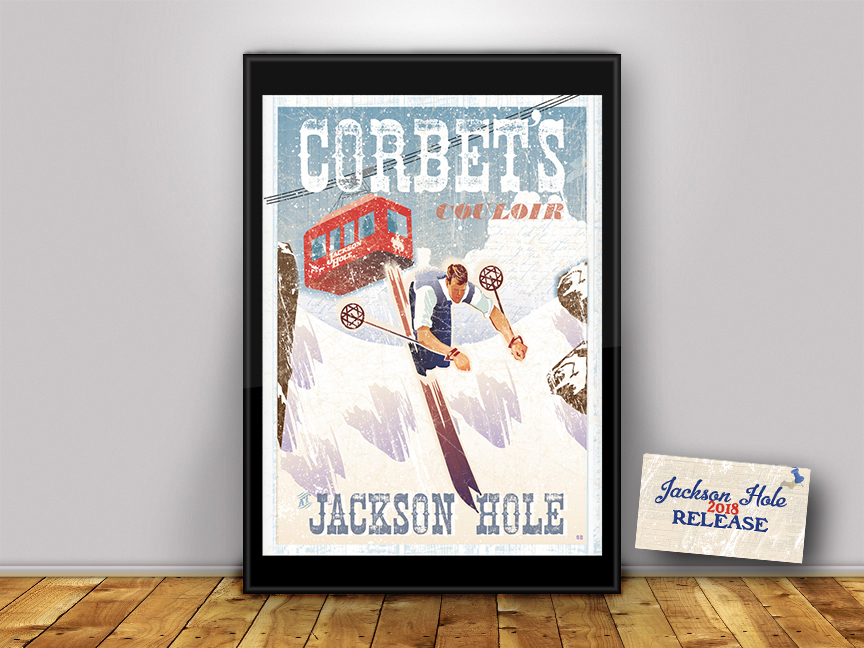 Crown the King and Queen of Corbet's with this limited edition archival poster print.