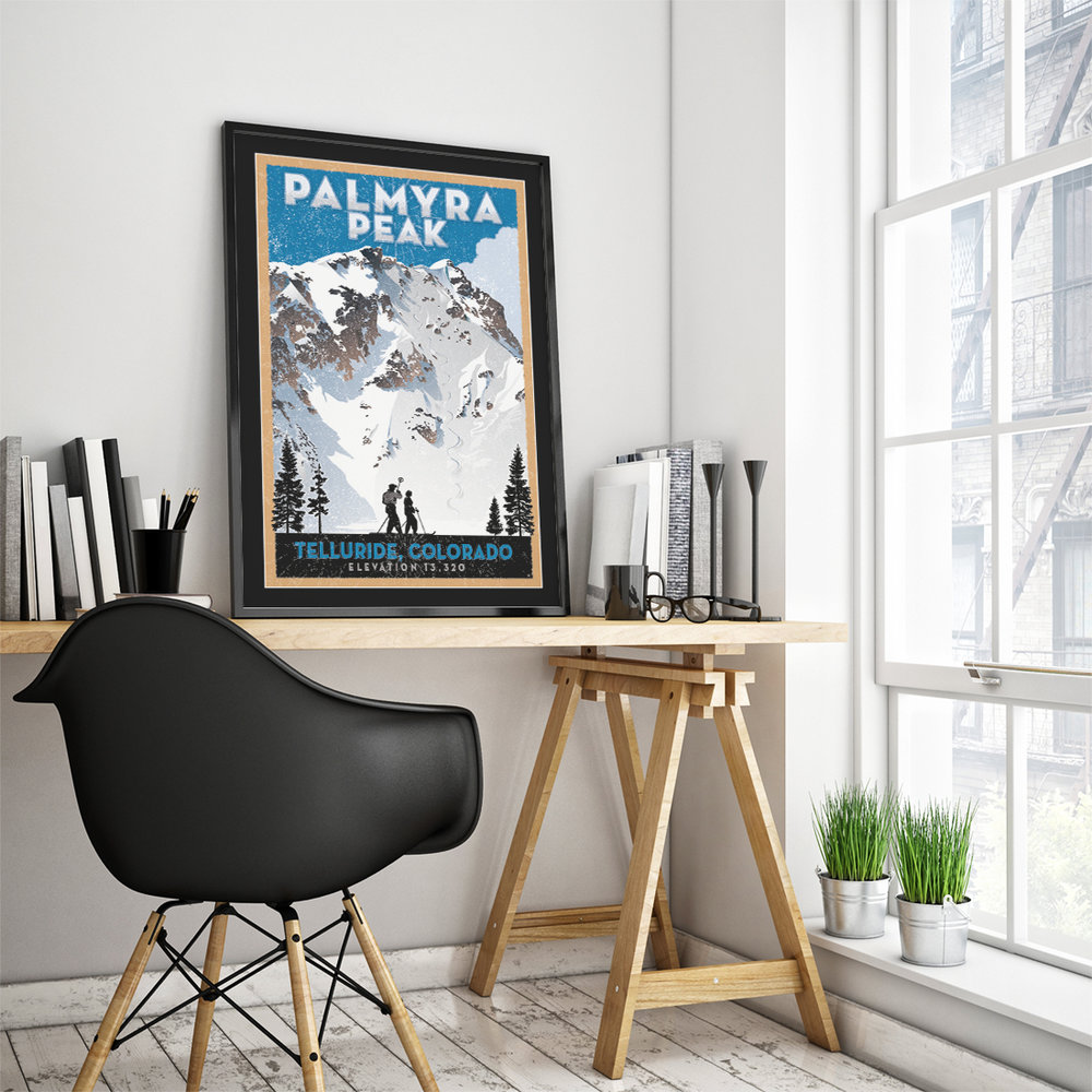 Dream of the Hike, sitting in your office! Remember your drop!