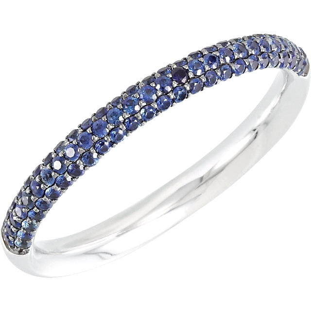 Copy of Blue Sapphire Anniversary Band