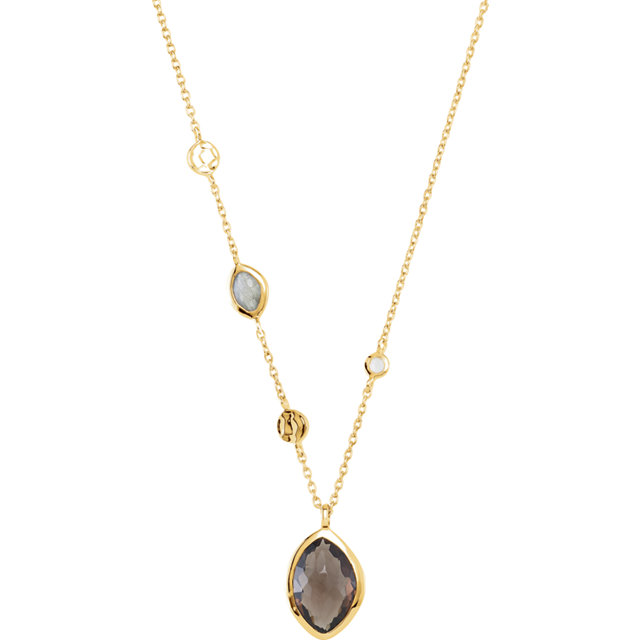 Quartz and Moonstone