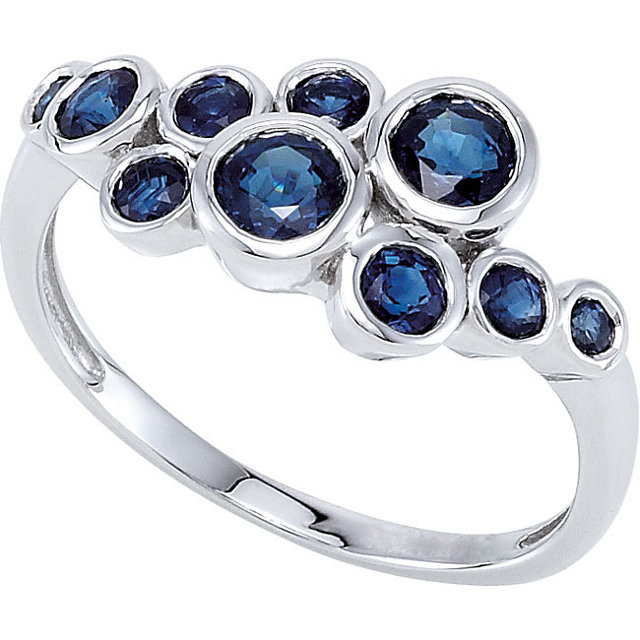 Copy of Sapphire Cluster Ring