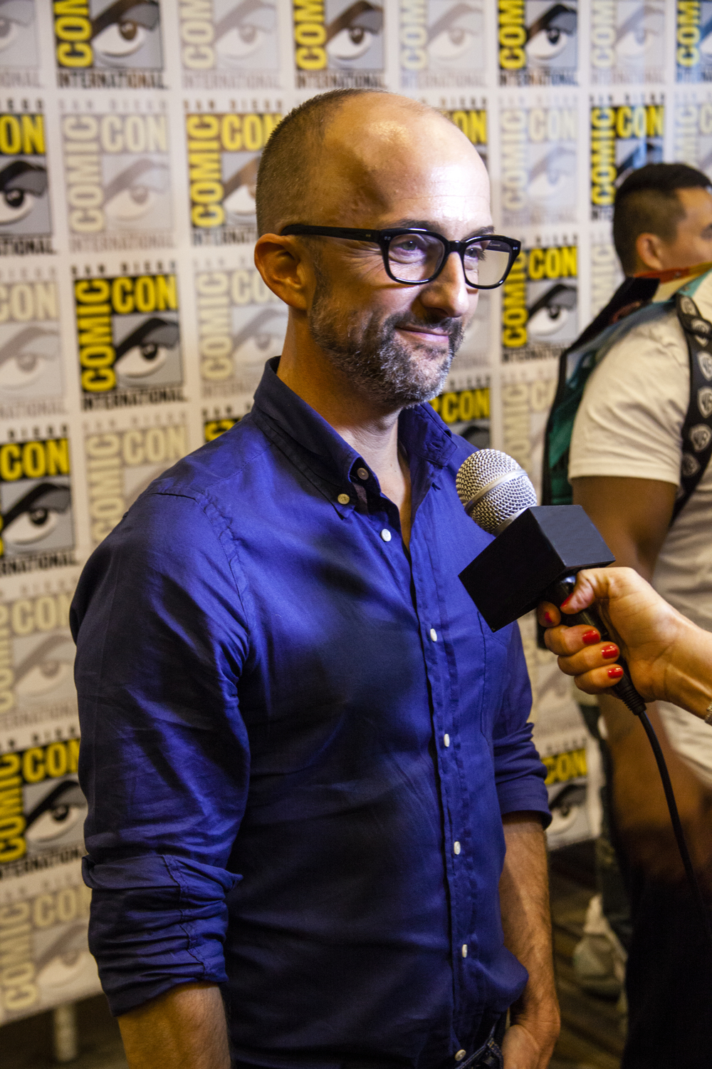 Actor, Writer, Director Jim Rash  Photo by Joel Feria