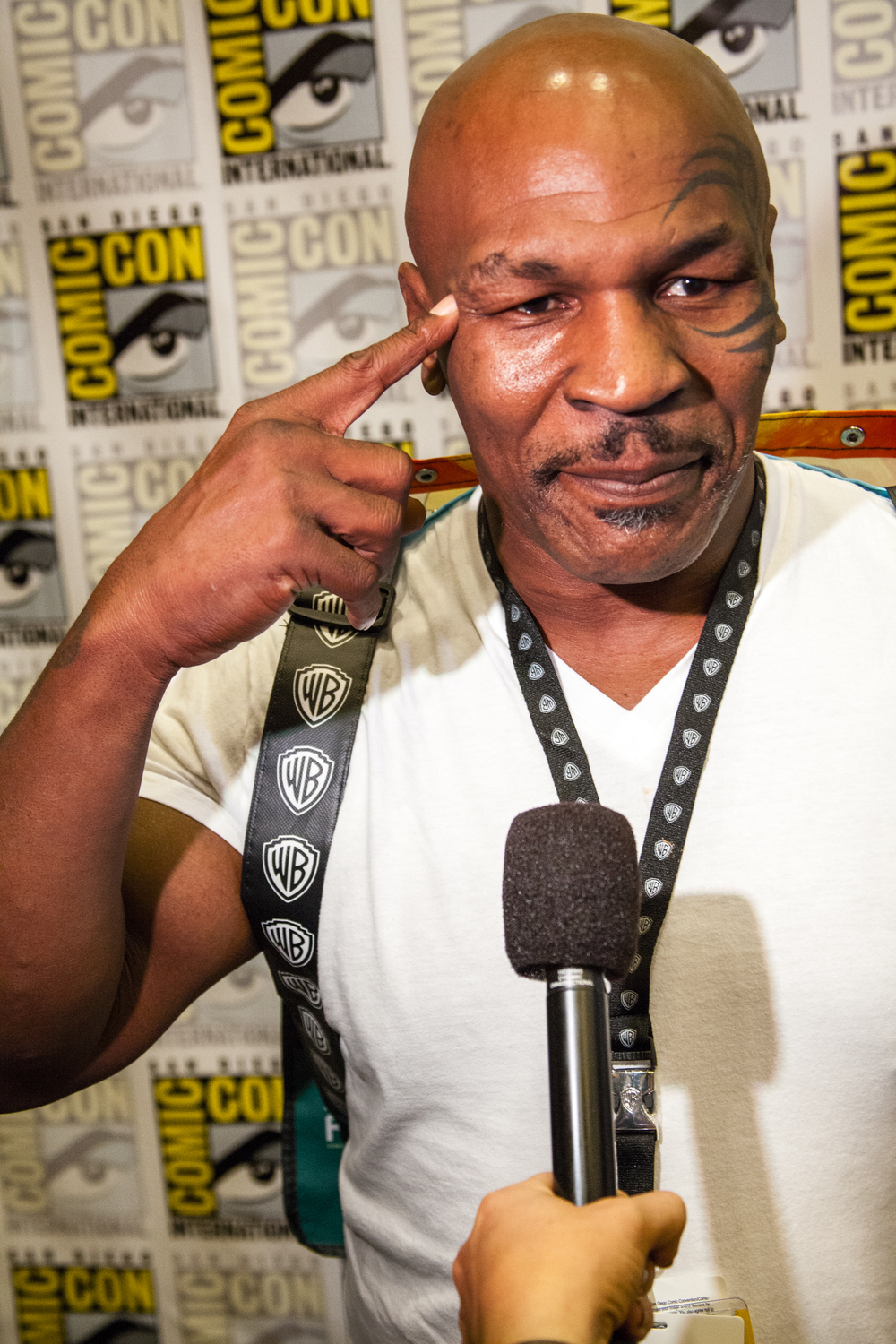 Boxer, Actor, Motivational Speaker Mike Tyson  Photo by Joel Feria