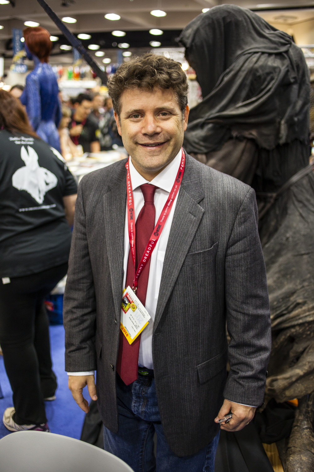 Actor Sean Astin  Photo by Joel Feria
