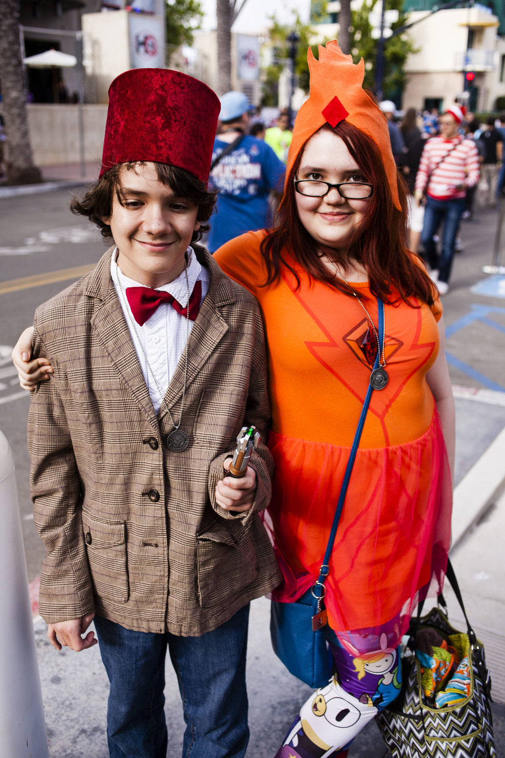 Dr Who and Flame Princess by Joel Feria HIGH.jpg