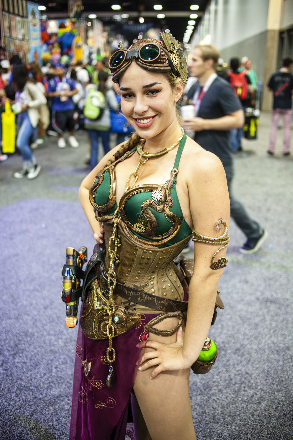 Steampunk Slave Leia by Joel Feria HIGH.jpg