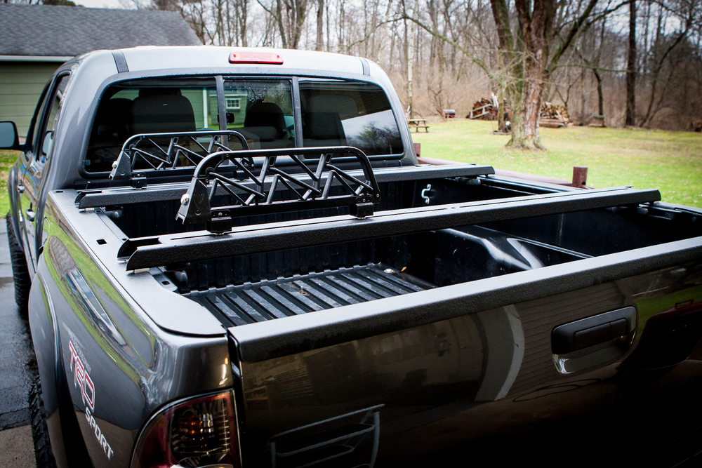 Toyota Tacoma Heavy Duty Bed Cross Bars Fits Years 2005