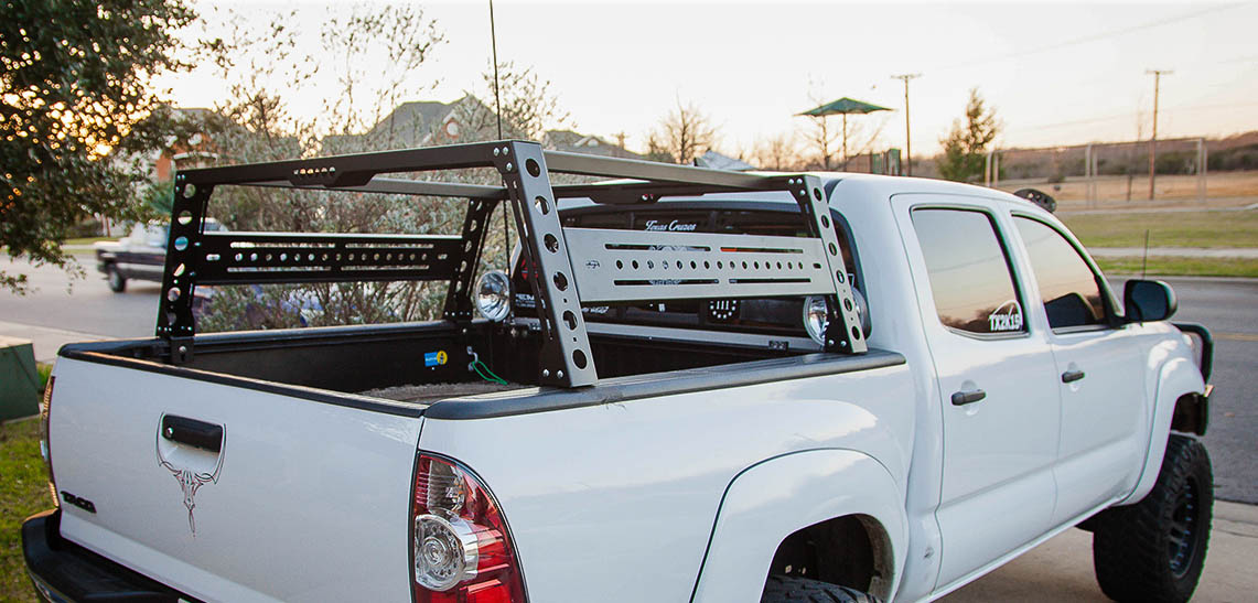 Toyota Tacoma Baja Toyota Tacoma Bed Rack, fits years 2005 - 2017 — KB Voodoo ...